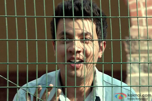Varun Sharma in a still from 'Fukrey'