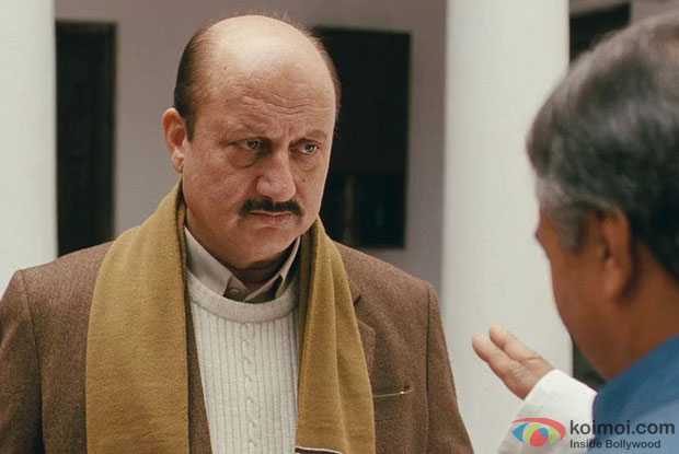 Anupam Kher in a still from movie 'Special 26'
