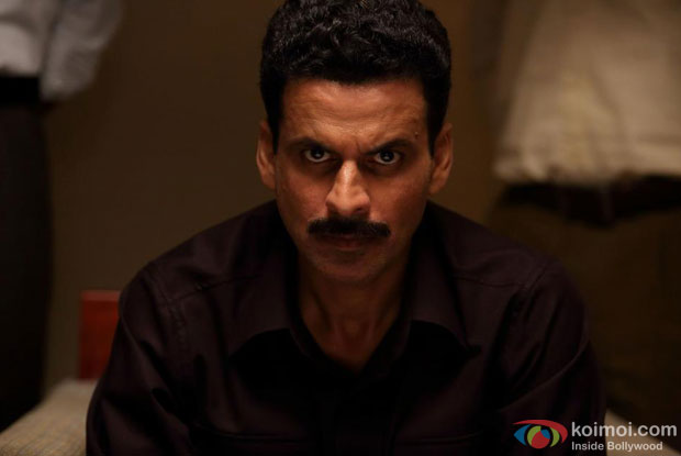Manoj Bajpai in a still from movie 'Special 26'
