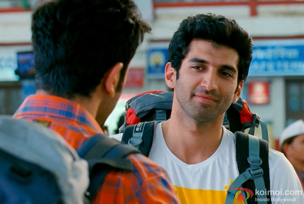 Aditya Roy Kapur in a still from movie 'Yeh Jawaani Hai Deewani'