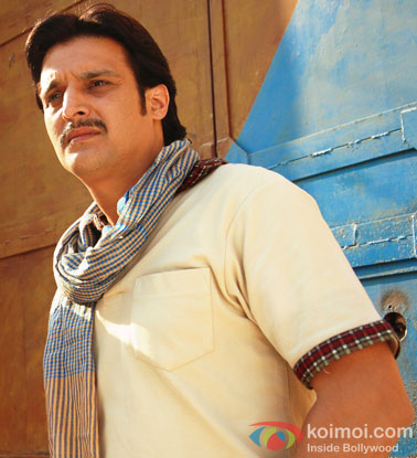Jimmy Shergill in a still from movie 'Bullett Raja'