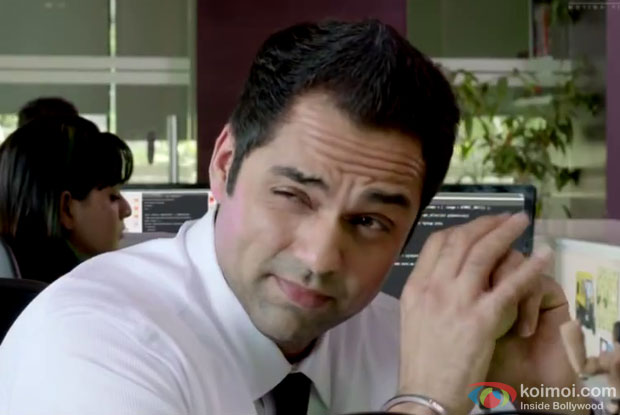 Abhay Deol in a still from movie 'One by Two'