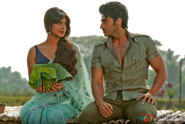 Priyanka Chopra and Arjun Kapoor in a  'Saaiyaan' song still from 'Gunday'