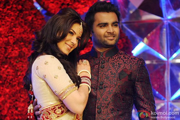 Urvashi Sharma (Mrs Raina Sachiin Joshi) and Sachiin Joshi