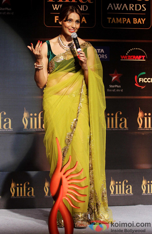 Bipasha Basu during the IIFA Press Conference