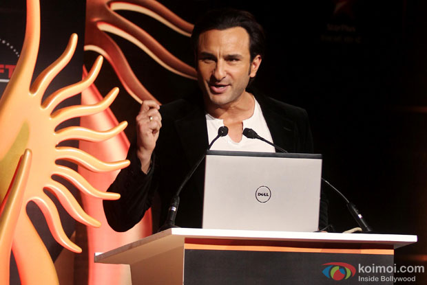 Saif Ali Khan during the IIFA Press Conference