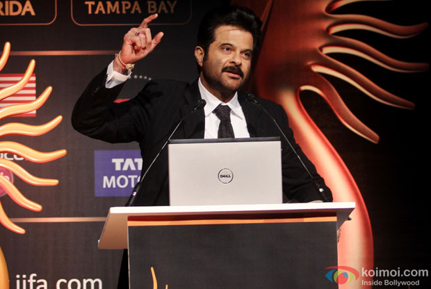 Anil Kapoor during the IIFA Press Conference