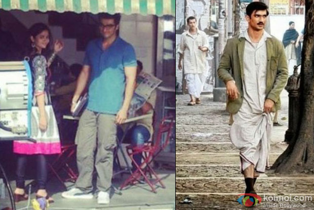still from on the sets of 2 States and Detective Byomkesh Bakshy