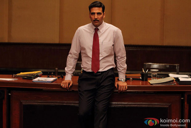 Akshay Kumar in a still from movie 'Special 26'