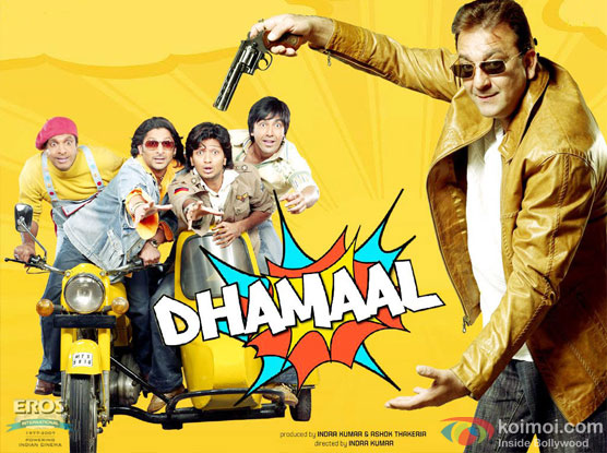 Dhamaal Movie Poster