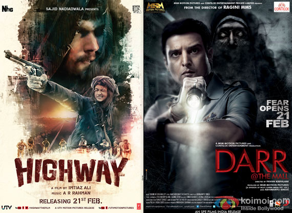 Highway and Darr @ The Mall Movie Poster