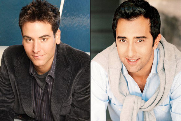 Ted Mosby and Rahul Khanna