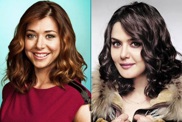 Lily Aldrin and Preity Zinta