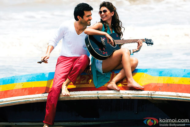 Harman Baweja and Ayesha Khanna in a 'Tu Hi Hai Aashiqui' song still from movie 'Dishkiyaoon'