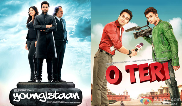 Youngistaan and O Teri Movie Poster
