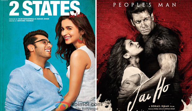 2 States and Jai Ho Movie Poster