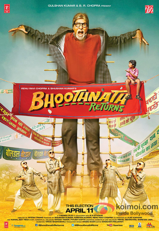 'Bhoothnath Returns' Movie Poster