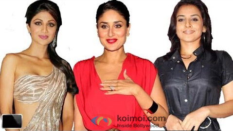 Shilpa Shetty, Kareena Kapoor and Rani Mukerji