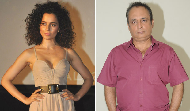 Kangana Ranaut and Piyush Mishra