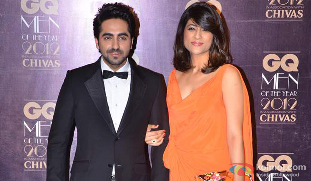 Ayushmann Khurrana and His Wife Tahira