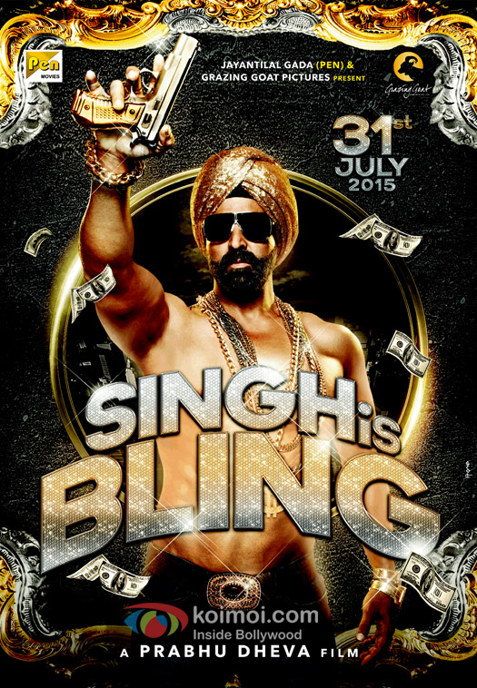 'Singh Is Bling' Movie Posters