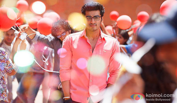 Arjun Kapoor in a still from movie '2 States'