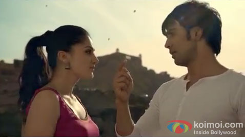 Amit Sadh and Taapsee Pannu in a Wild Stone TVC