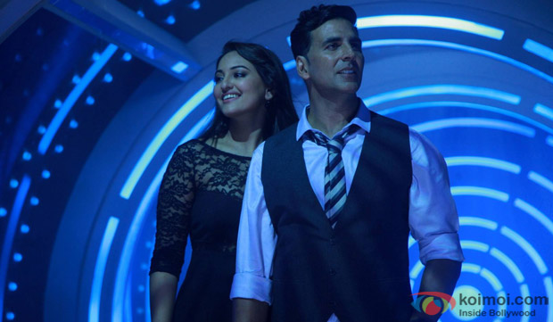 'Blame The Night' Song Still Featuring Sonakshi and Akshay