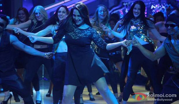 Sonakshi Sinha in a still from movie 'Holiday'