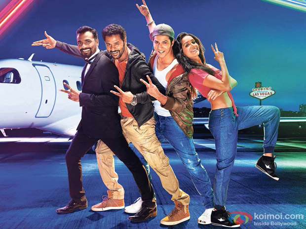 First Look Of ABCD 2 Movie Poster