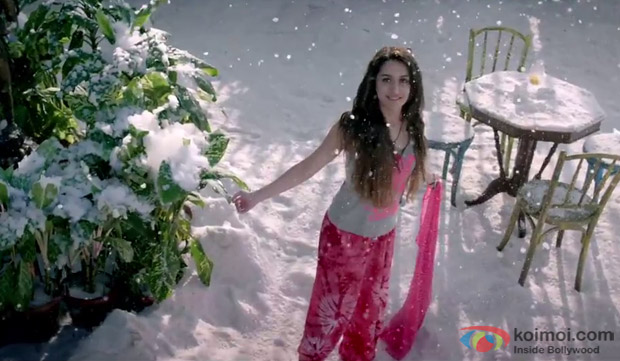 Shraddha Kapoor in a still from movie 'Ek Villain'