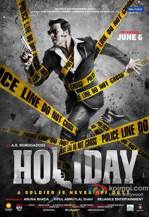 Akshay Kumar Starrer 'Holiday' Movie Poster