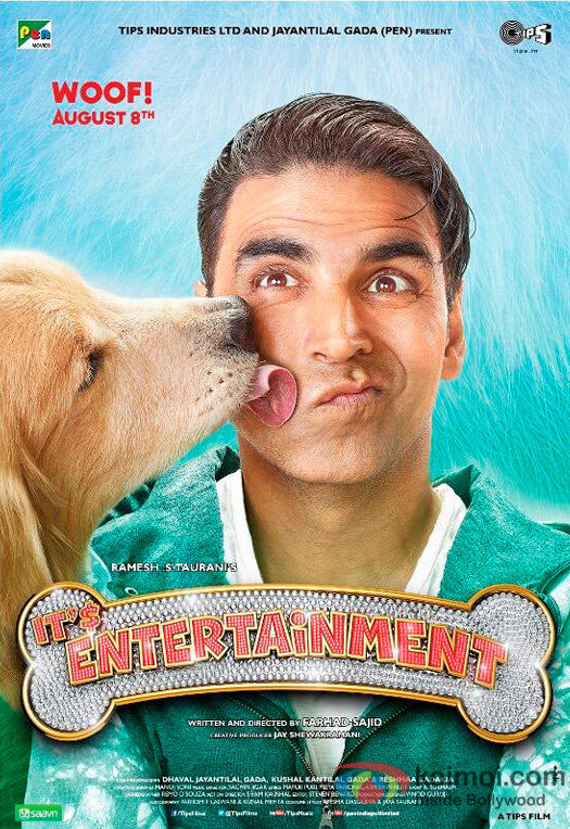 Brand New Poster Of 'It's Entertainment'