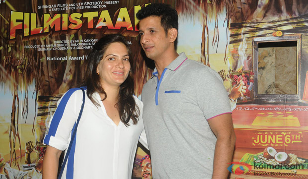 Prerana Chopra and Sharman Joshi Attend Filmistaan's Screening