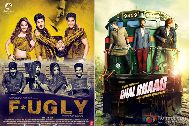 Fugly and Chal Bhaag Movie Poster