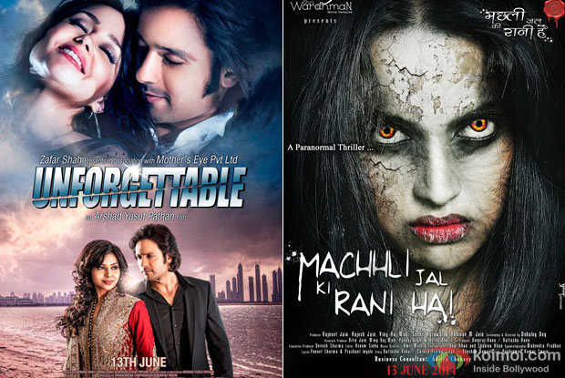Unforgettable and Machhli Jal Ki Rani Hai Movie Poster