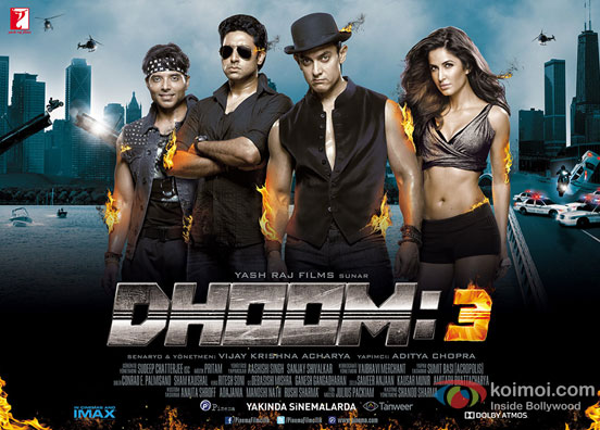 Dhoom:3 Movie Poster