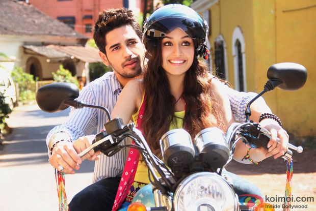 Shraddha Kapoor and Sidharth Malhotra in a still from movie 'Ek Villain'