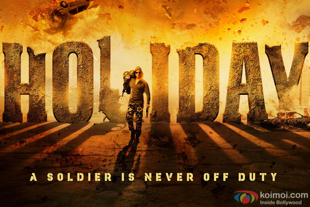 Akshay Kumar in a 'Holiday – A Soldier Is Never Off Duty' movie