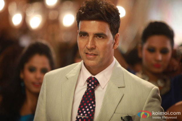 Akshay Kumar in a still from movie 'Holiday – A Soldier Is Never Off Duty'