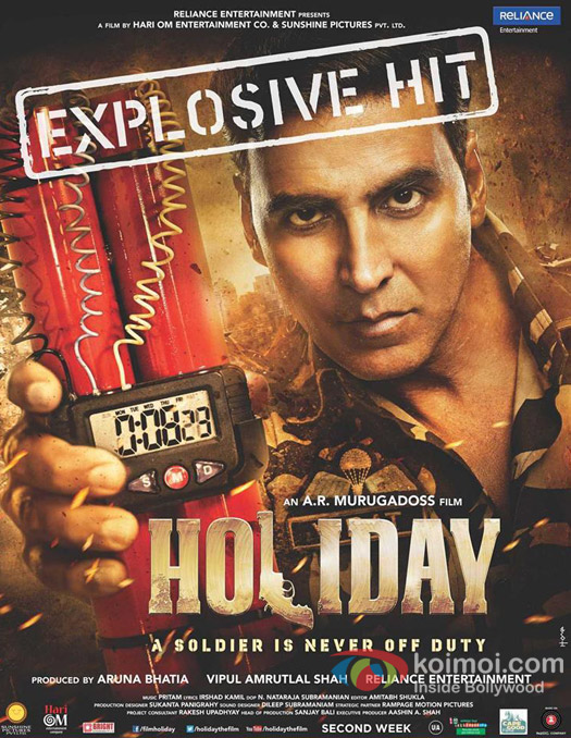 Holiday – A Soldier Is Never Off Duty Movie Poster
