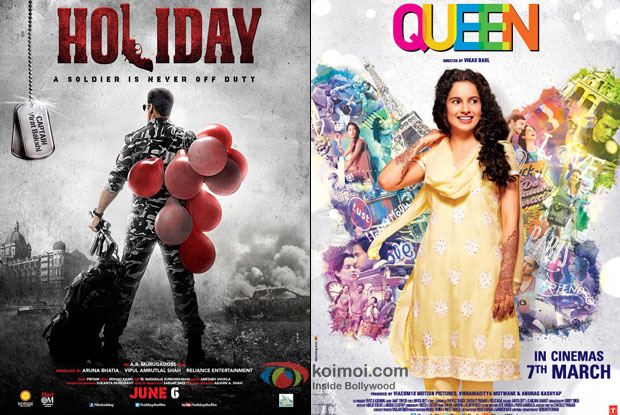 Holiday – A Soldier Is Never Off Duty and Queen Movie Poster