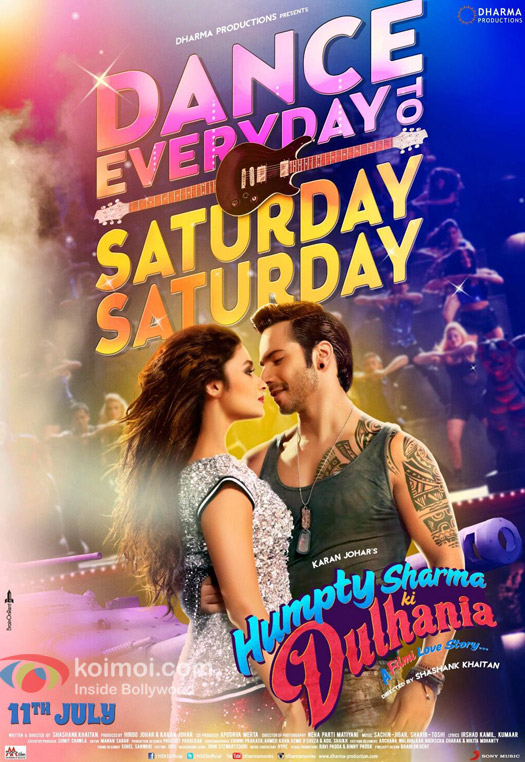 Humpty Sharma Ki Dulhania Movie New Poster