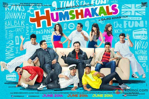 'Humshakals' Movie Poster