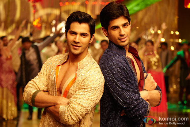 Varun Dhawan and Sidharth Malhotra in 'Student Of The Year'