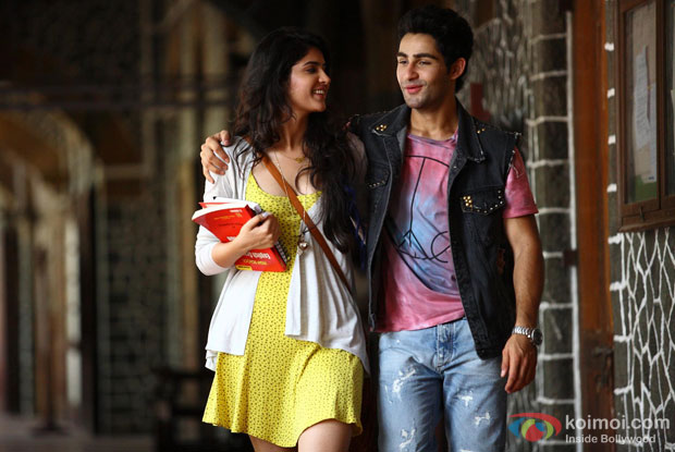 Deeksha Seth and Armaan Jain in a still from movie 'Lekar Hum Deewana Dil'