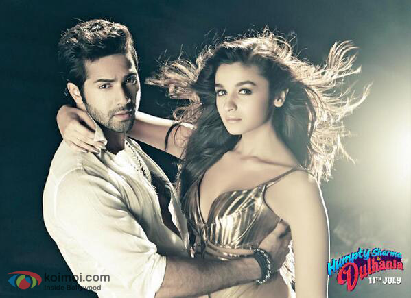 Varun Dhawan and Alia Bhatt in 'Saturday Saturday' song