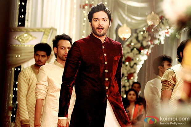 Ali Fazal in a still from movie 'Bobby Jasoos'