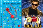 Film Hello is based on the novel 'One Night @ The Call Center' written by Chetan Bhagat
