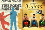 Film 3 Idiots is based on the novel '5 Point Someone' written by Chetan Bhagat